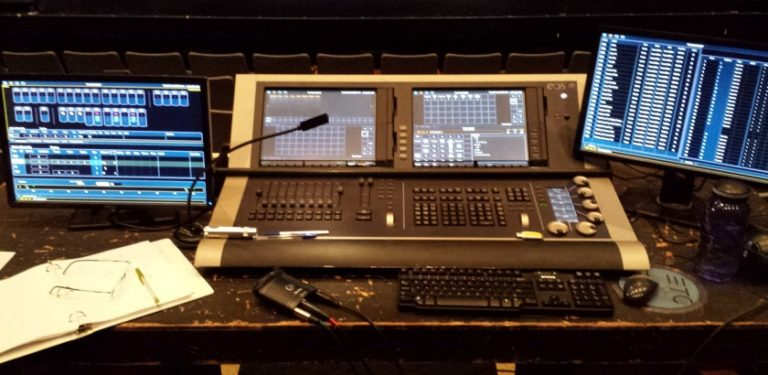 Lighting Console Photography | Tom Libertiny